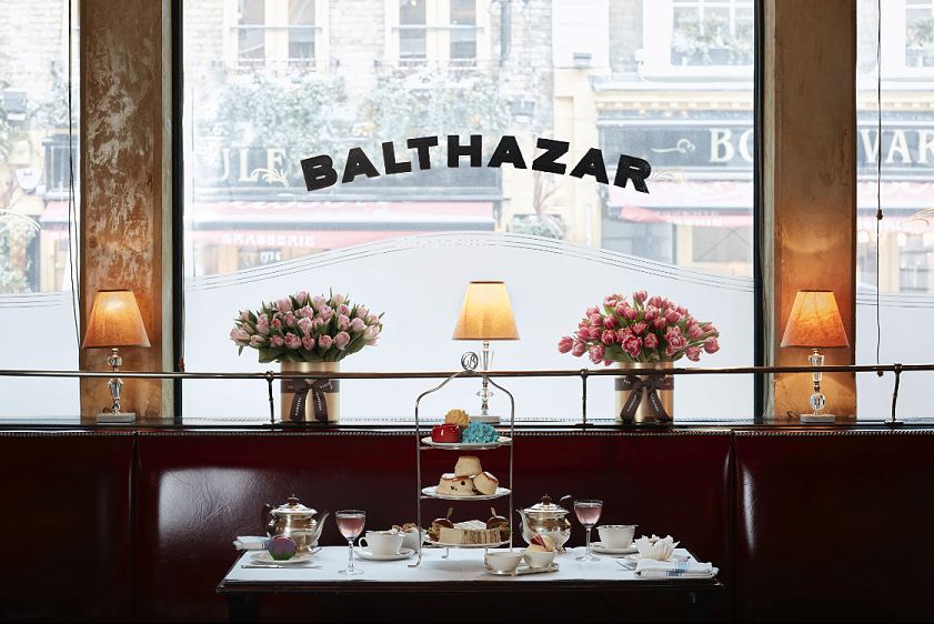 Afternoon Tea in Central London at Balthazar, Covent Garden
