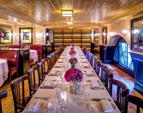 Balthazar has two private rooms available to hire for private events
