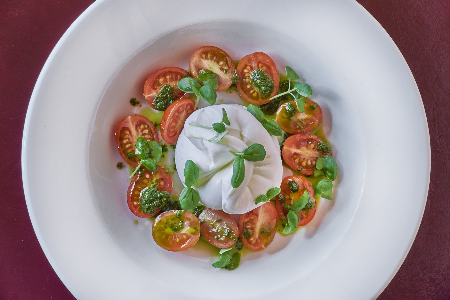 Balthazar Tomatoes and Burrata