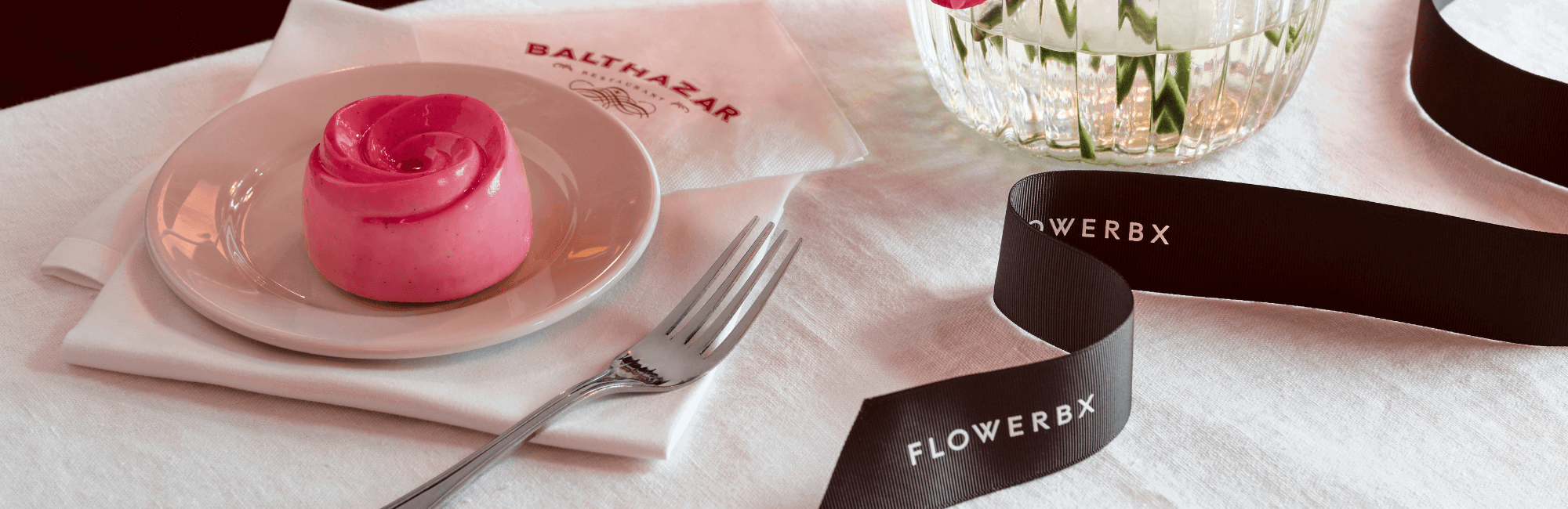 The Flowerbx Afternoon Tea at Balthazar restaurant in Covent Garden