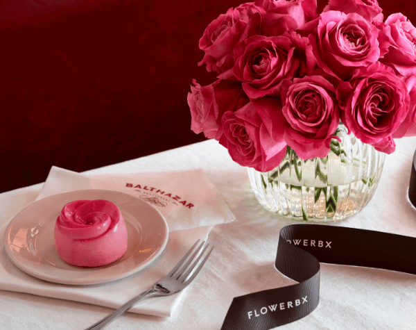 The FlowerBx Afternoon tea