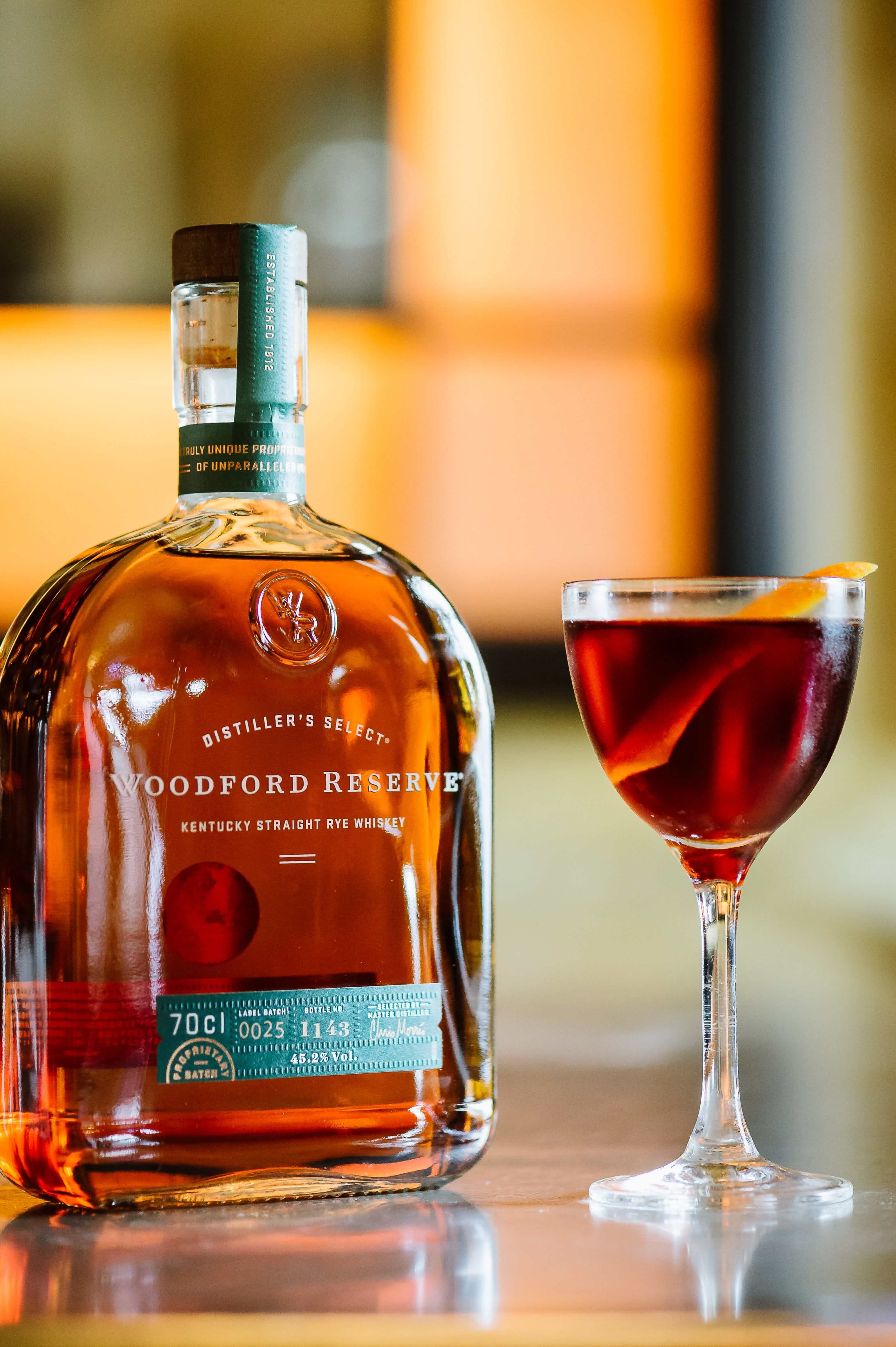 Woodford Whiskey at Balthazar, Covent Garden