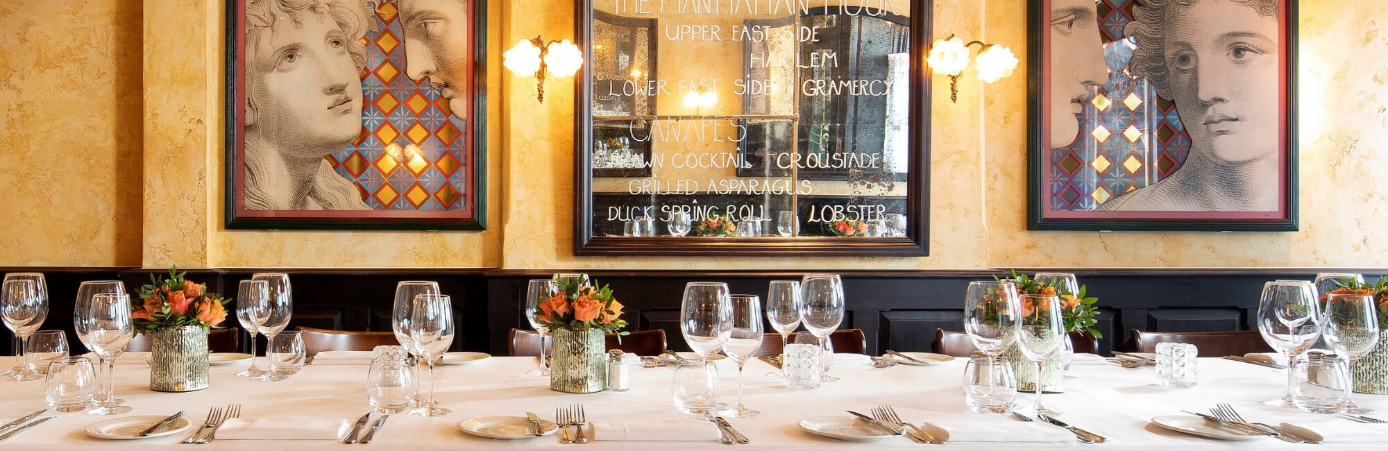 Le Petit Salon Privé is a small private dining space in Covent Garden