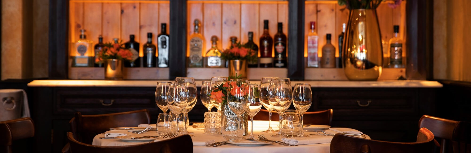 The Private Dining room at Balthazar is ideal to dine with friends in London