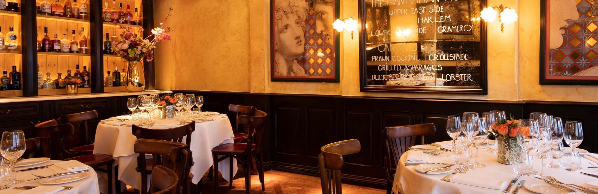 Balthazar's Private Dining room is ideal for groups of friends