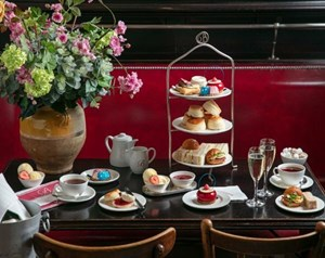 The NY Afternoon Tea with Champagne at Balthazar in London